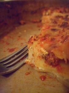 lasagna leftovers