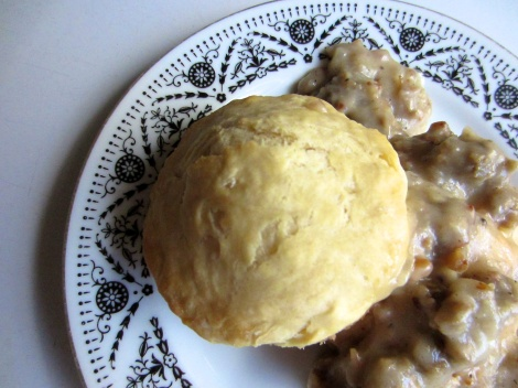 Vegan Sausage Biscuits and Gravy