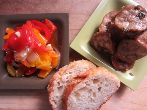 Peperonata & Marinated Eggplant