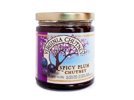 virginia chutney co spicy plum chutney